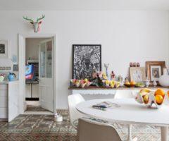 Get the look: una casa eclettica con un tocco di romanticismo