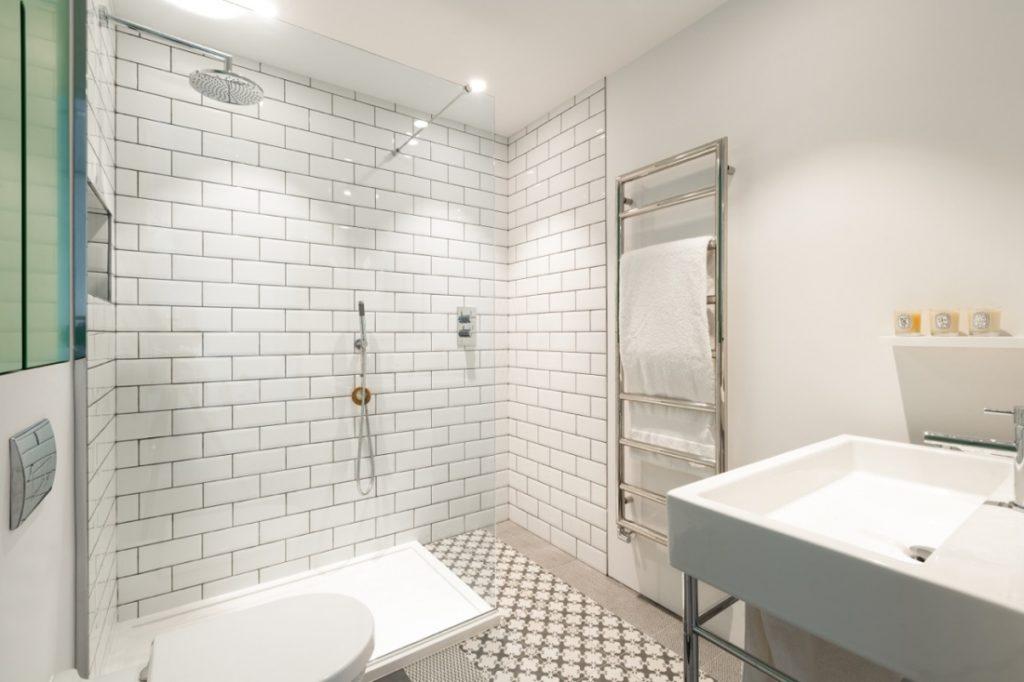 loft in ex fabbrica bagno