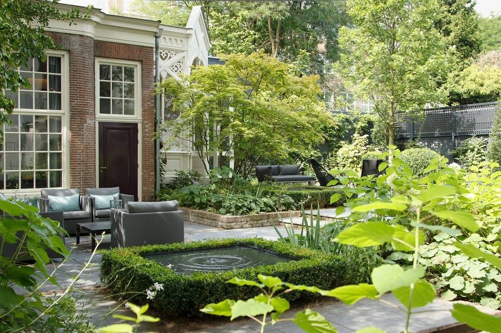 Canal House Amsterdam giardino 1