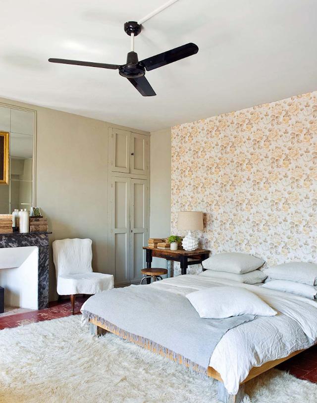 Francia del sud di charme stanza da letto