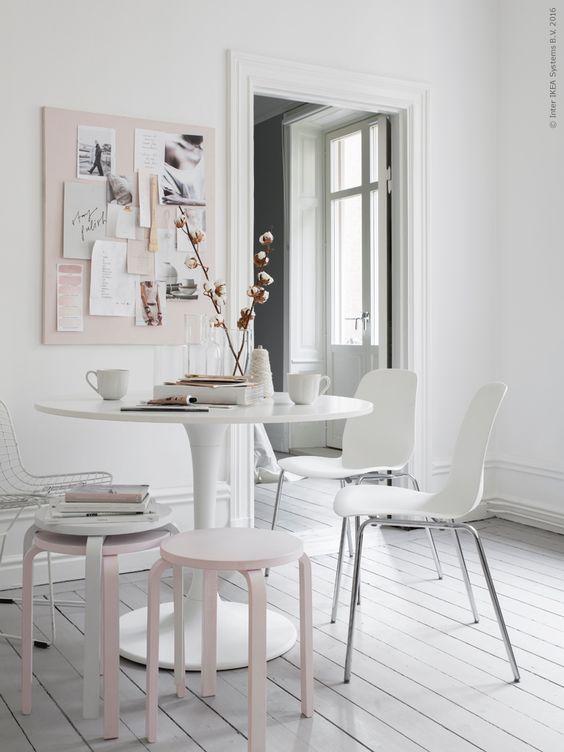 Una trasformazione semplice per uno sgabello di Ikea