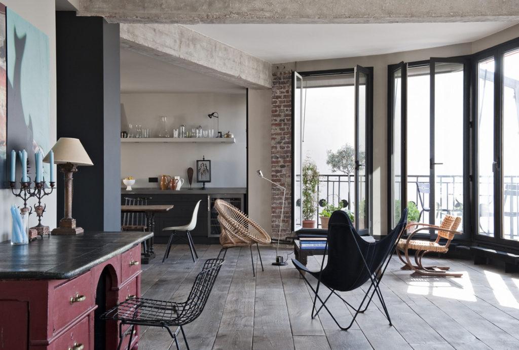 Un loft industriale a Parigi 2