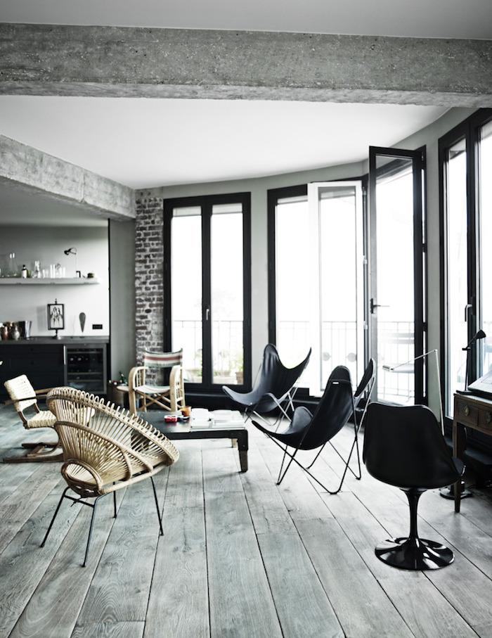 Un loft industriale a Parigi 6