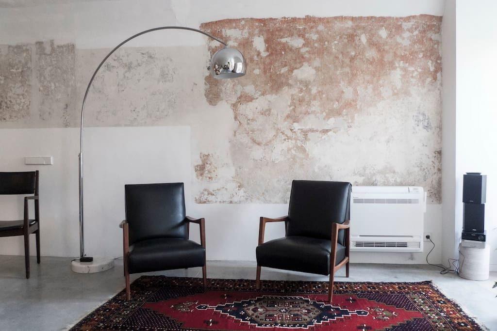 piccolo loft a Lisbona