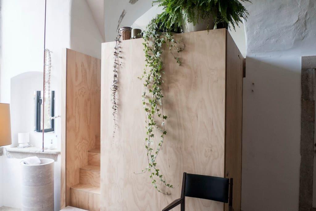 un piccolo loft a Lisbona