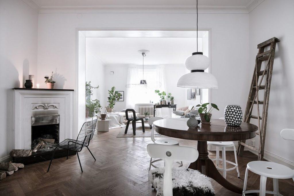Una casa dal fascino nordico 10