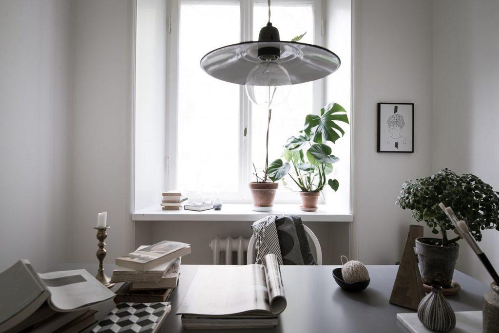 Una casa dal fascino nordico studio