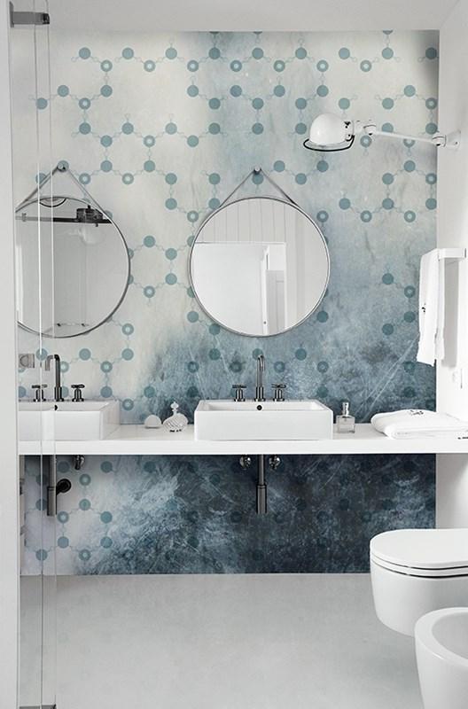 Wet system un rivestimento alternativo per il bagno e la for Wall e deco rivenditori