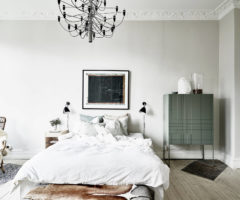 Un affascinante appartamento pieno di luce a Stoccolma