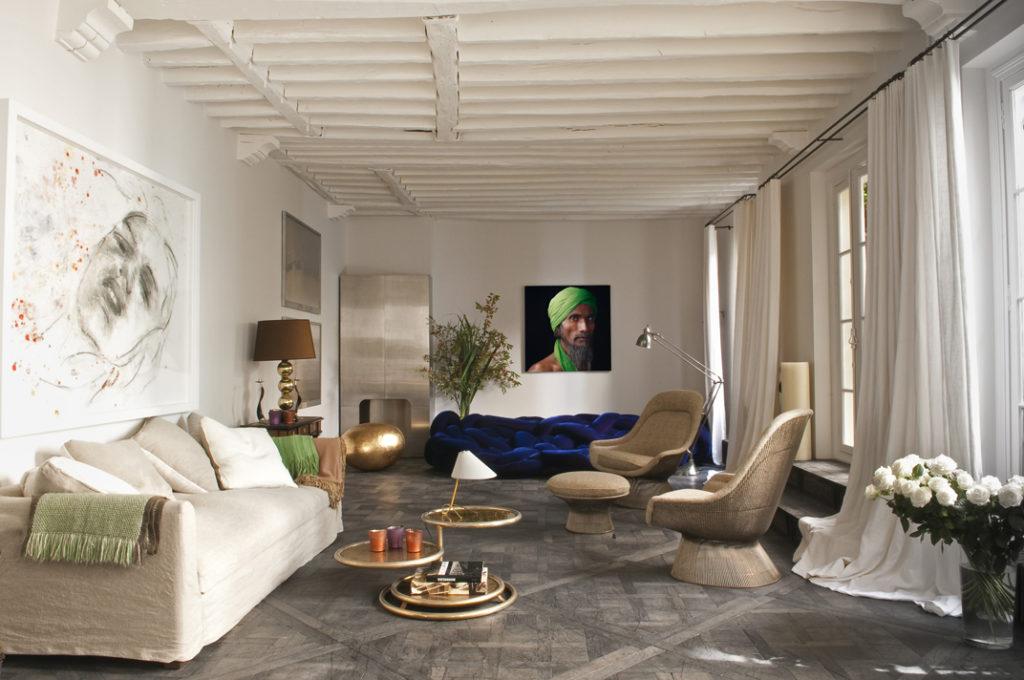 1 Appartamento parigino con giardino
