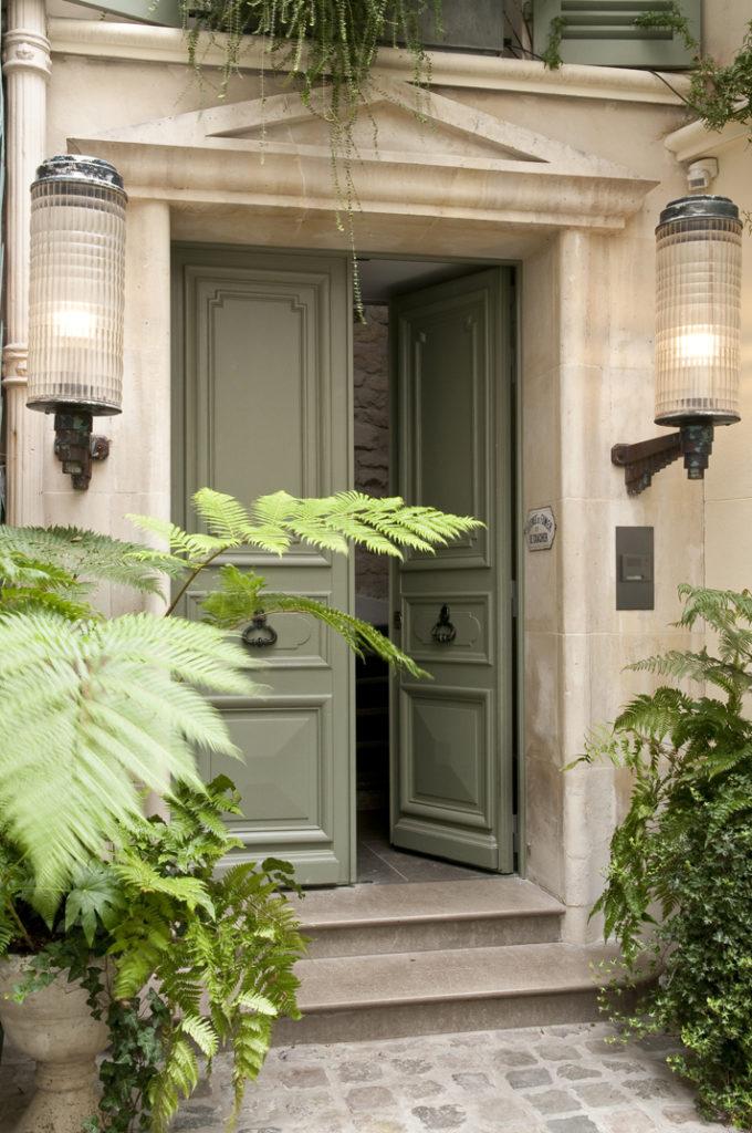 10 Appartamento parigino con giardino
