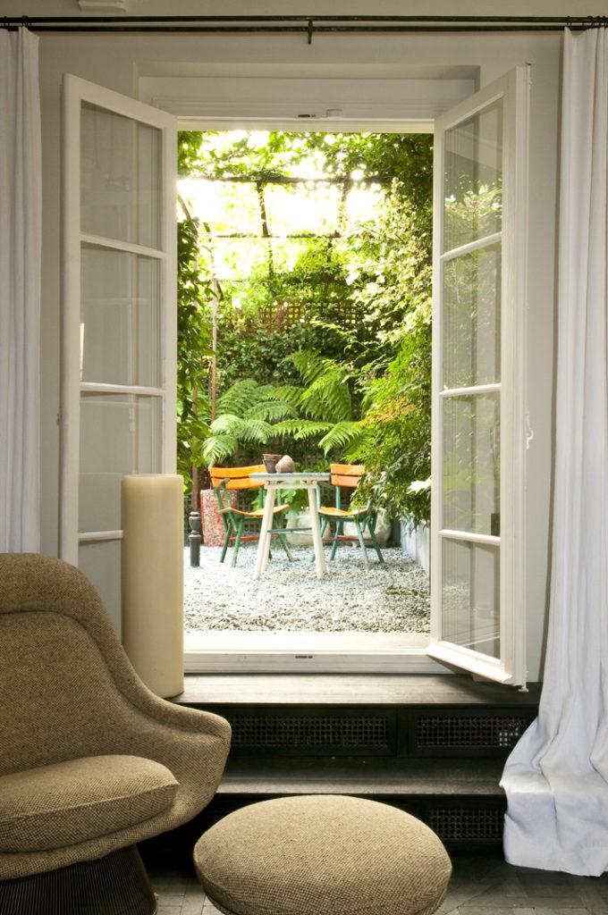 3 Appartamento parigino con giardino