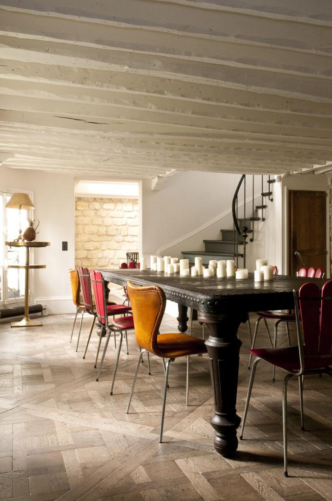 5 Appartamento parigino con giardino