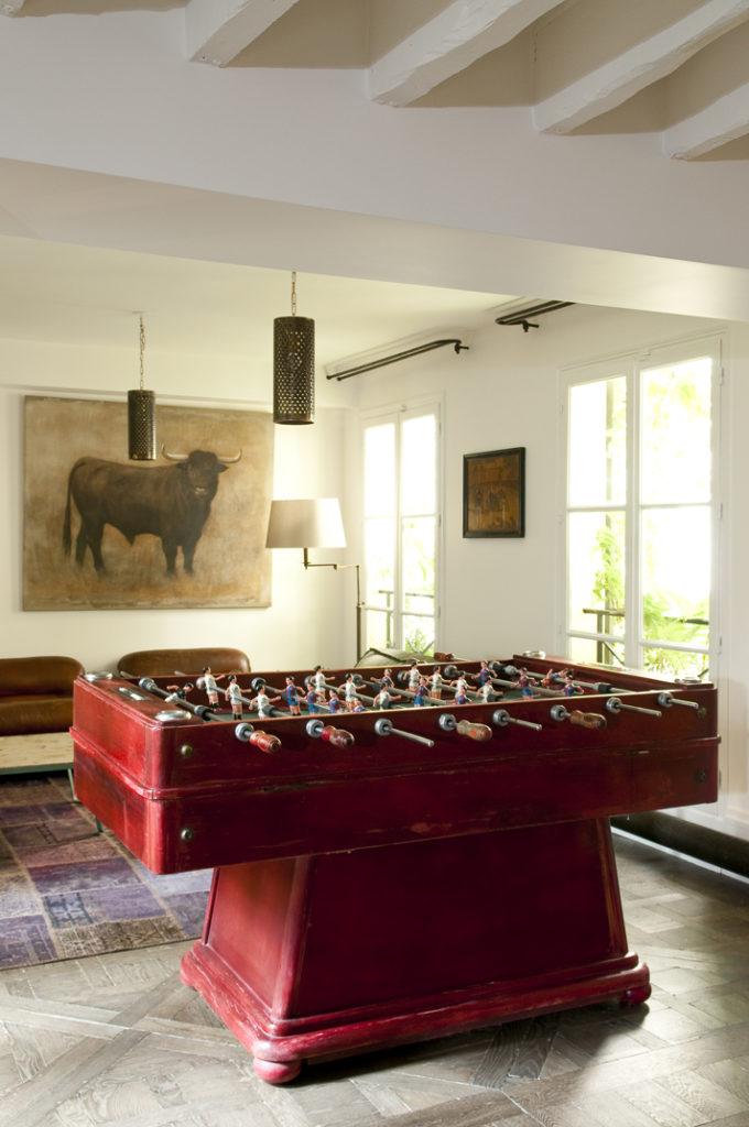 8 Appartamento parigino con giardino