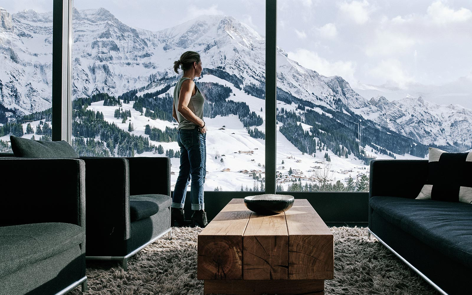 The cambrian un hotel per gli amanti della montagna in for Design hotels alps