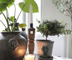 Mix di stili per un appartamento svedese