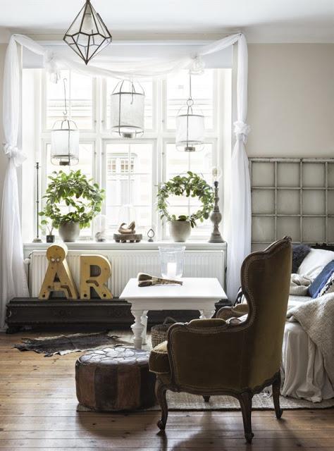 Appartamento svedese rustico 9