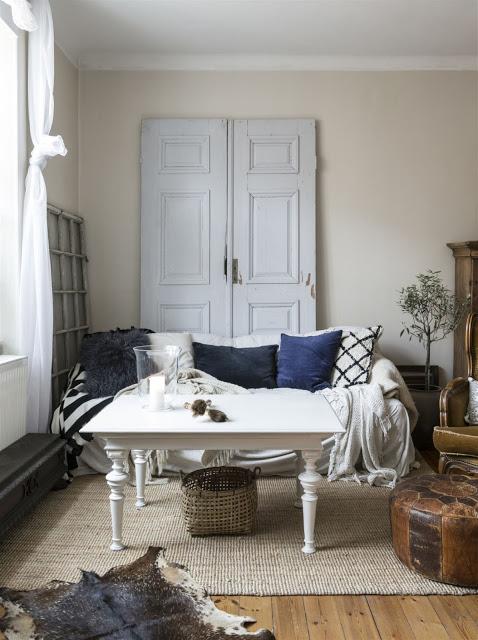 Appartamento svedese rustico