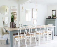 Specchi vintage per un interno danese