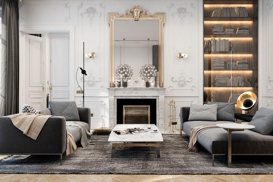 Mix di stili per un appartamento parigino u2013 in the mood for design