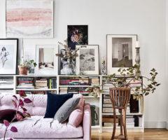 La vie en rose a casa della blogger Amelia Widell