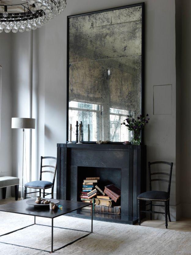 Decor tips: uno specchio vintage e la parete prende vita – In the ...