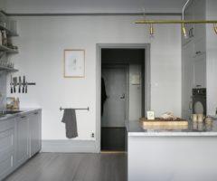 Elegante grigio in versione svedese