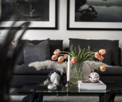 Interior Inspiration: Atmosfera dark con un tocco… rosa