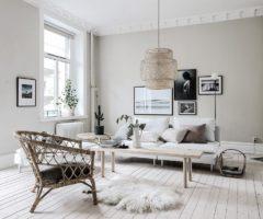 Interno nordico a Goteborg con il meglio della collezione Stockholm