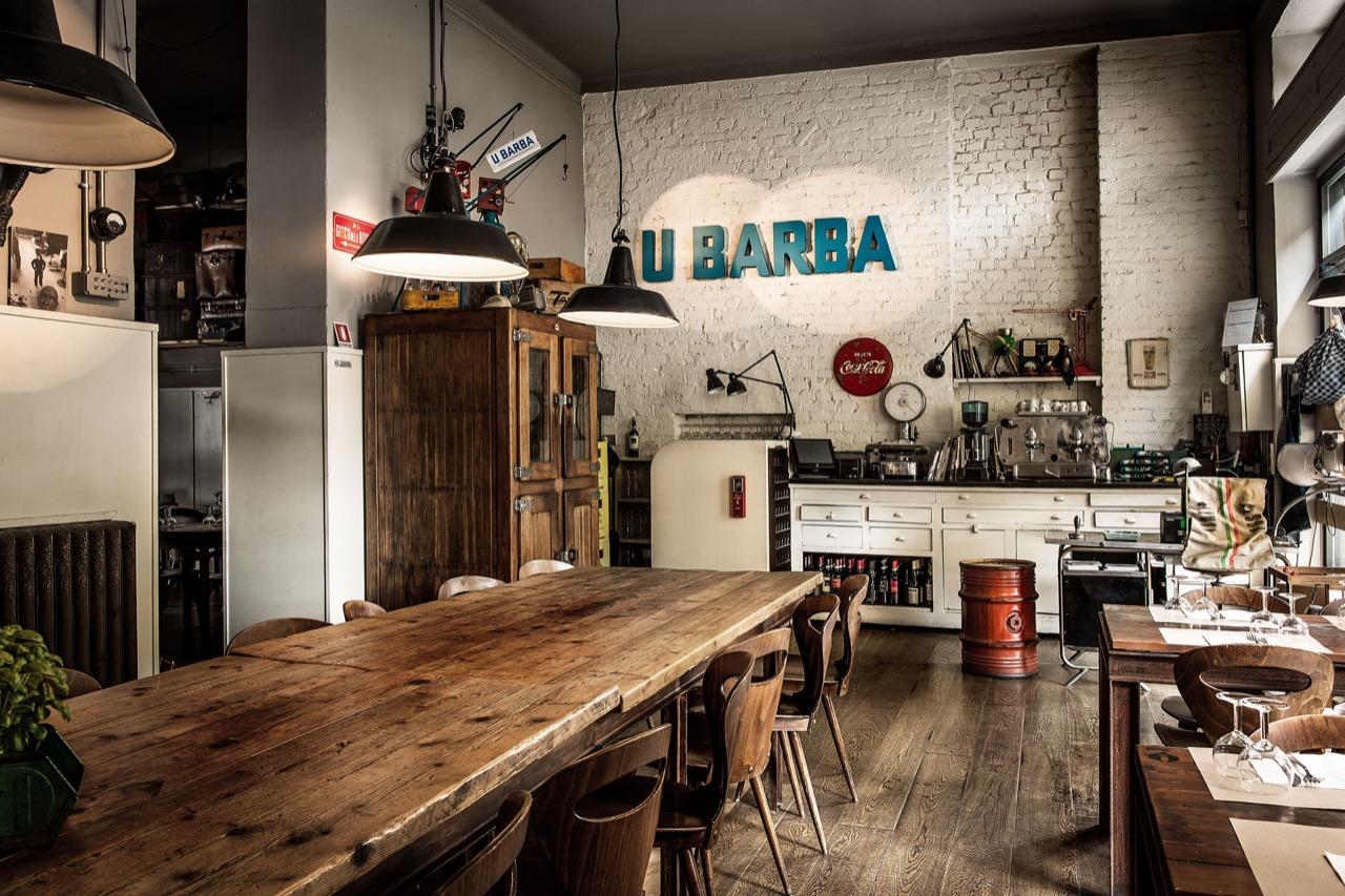 Una bocciofila si trasforma in osteria genovese in the for Cucine design milano