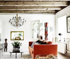 La casa danese: Ad ogni stanza il suo colore