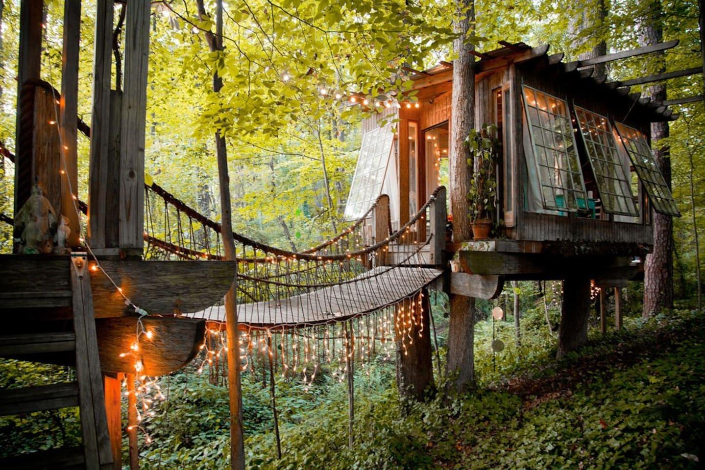 Airbnb series un imperdibile casa sull albero ad atlanta - Airbnb casa sull albero ...