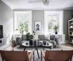 Nordic Style: l'esempio svedese in un mix di colori delicati