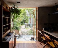 Sogno minimalista: la casa di Shiga, pensata per un fotografo