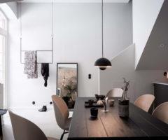Sogno Minimalista: mattoni a vista per un appartamento svedese