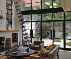 Interior Inspirations: una townhouse su tre piani affacciata sul giardino