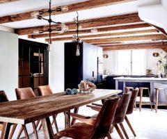 Interior Inspirations: travi a vista per una casa sui canali di Amsterdam
