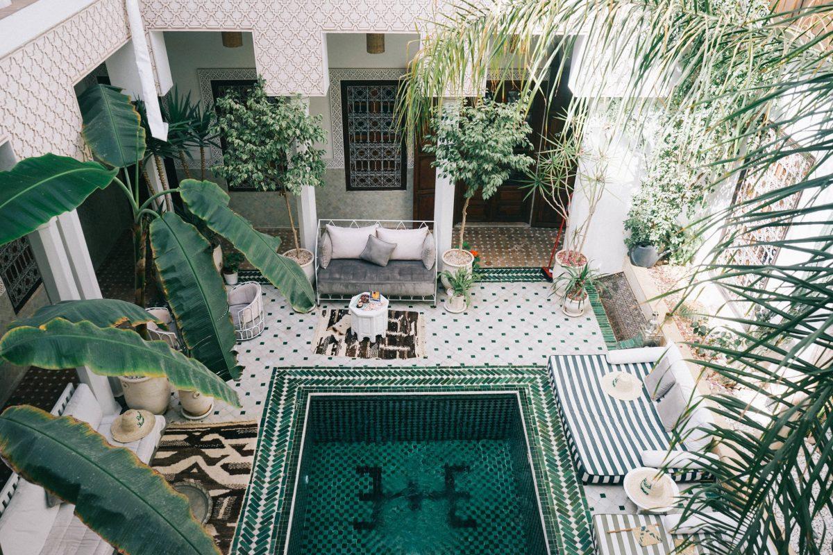 Airbnb Series Un Riad Di Charme In Vacanza A Marrakech