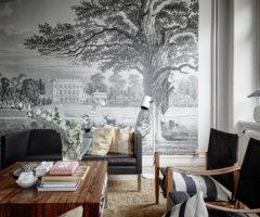 """Get the look: vestire le pareti con il """"papier peint"""""""