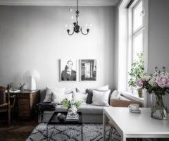 Tiny & cozy: un luminoso monolocale con soppalco