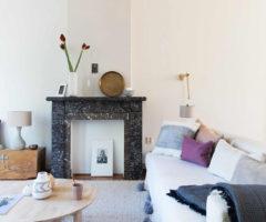 Get the look: legno, colori pastello e senso per l'estetica in una casa olandese