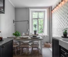 Tiny & cozy: focus sulla cucina, un'idea da copiare quando la cucina è lunga e stretta