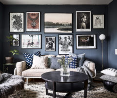 Spotlight on color: il blu declinato in stile svedese