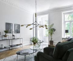 Spotlight on color: un appartamento in mille sfumature di verde