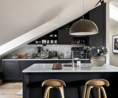 Interior Inspiration: una mansarda openspace ricca di personalità