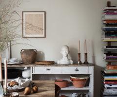 Interior Inspiration: colori autunnali per un interno svedese
