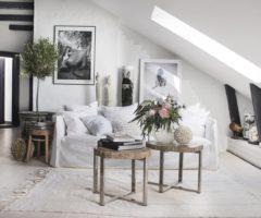 Interior Inspiration: una mansarda affascinante con vista sui tetti