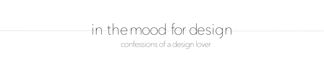 In the mood for design