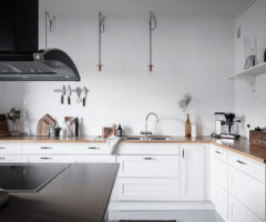 Interior Inspiration: sotto tetto con terrazza dal fascino vintage