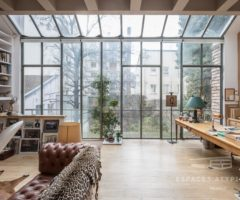 Interior Inspiration: un loft parigino con vista sul giardino